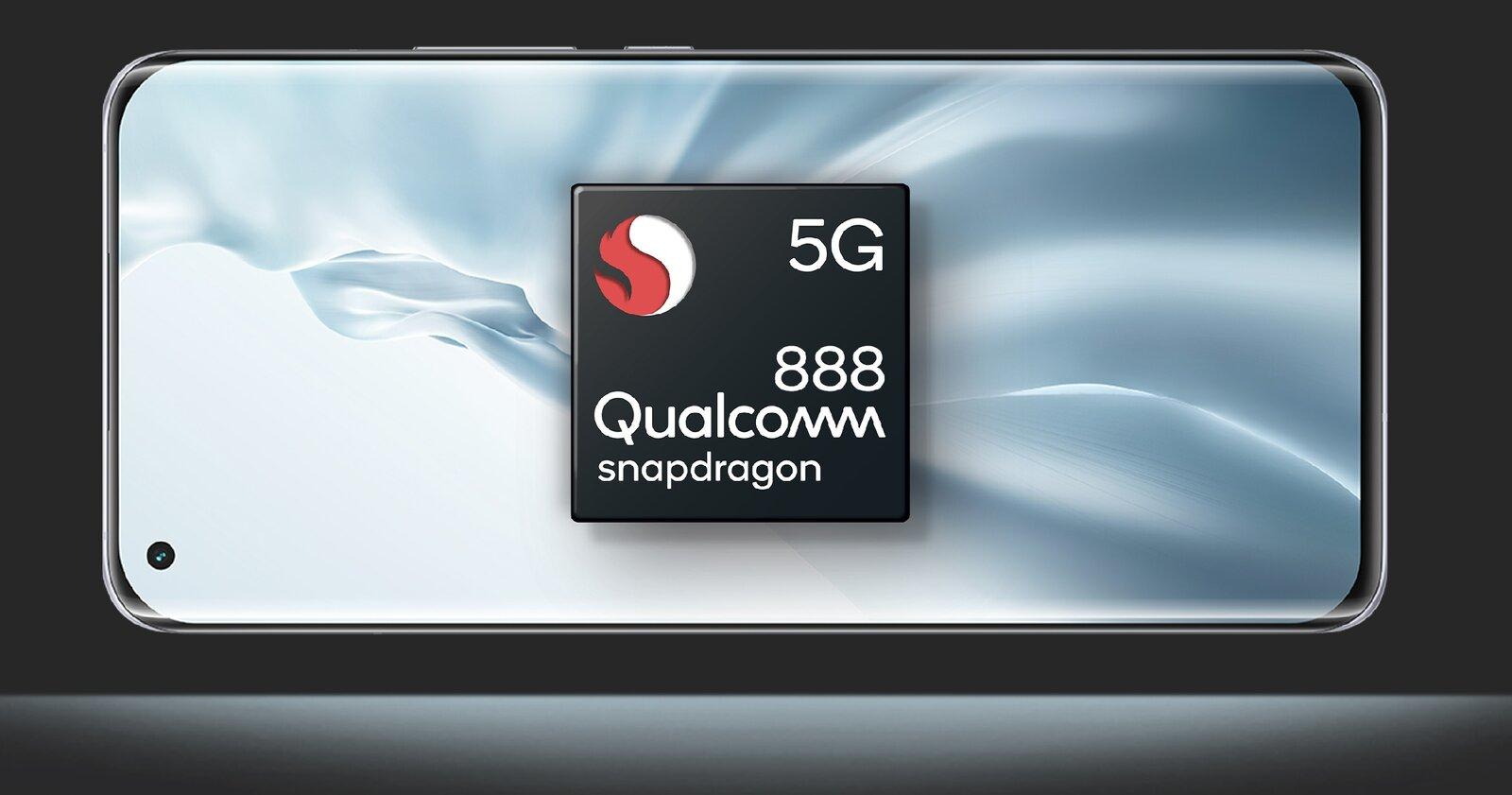 Le Xiaomi Mi 11 est équipé du Snapdragon 888