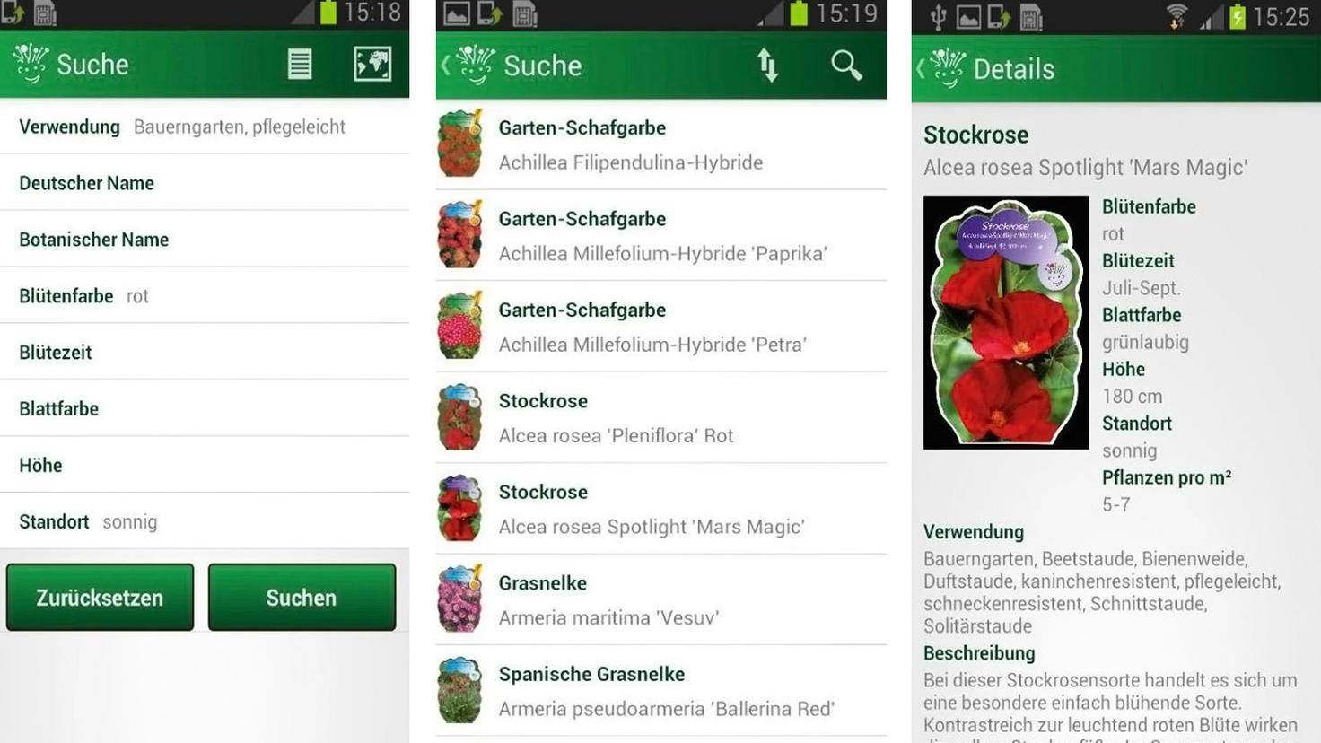 Guide des vivaces App-Google Play Store-Ralf Köster