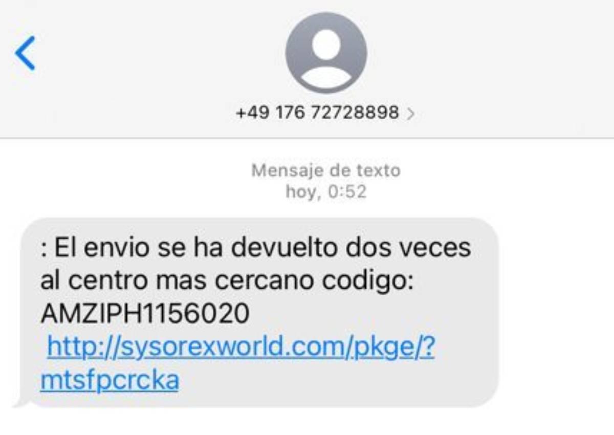 Il s'agit du SMS malveillant que certains utilisateurs reçoivent