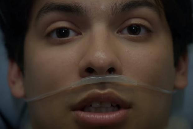 """Xolo Mariduena joue Miguel Díaz dans """"Cobra Kai"""" (Photo: Netflix)"""