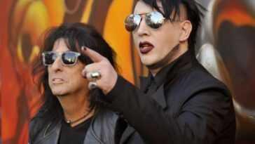 """Alice Cooper Défend Marilyn Manson: """"pour L'instant, Ce Ne Sont"""