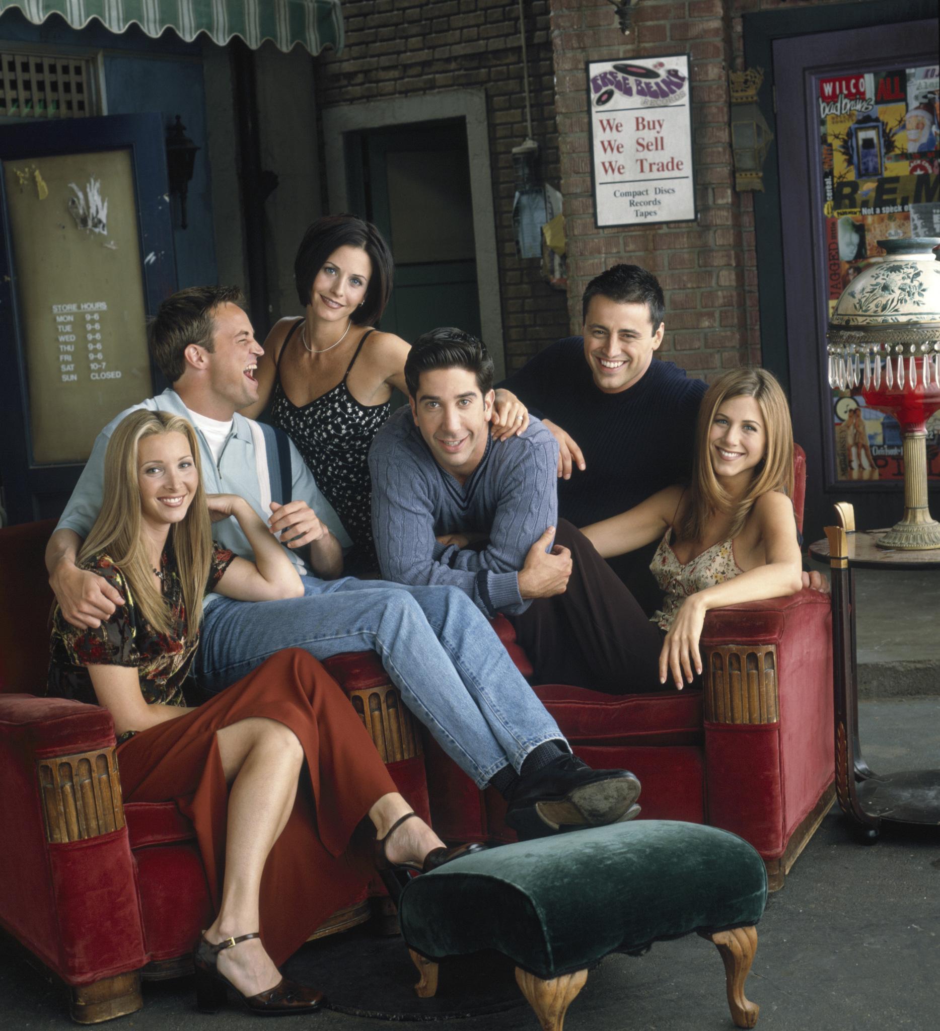 Jennifer Aniston est l'une des favorites de Friends.  Photo: (IMDB)