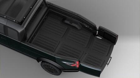Coffre de camionnette Canoo
