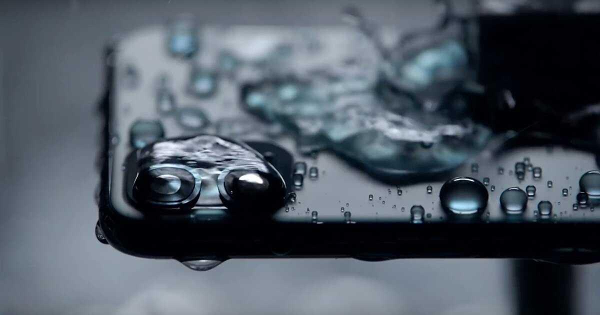 iPhone 11 eau
