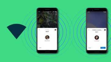 Partager le Wi-Fi sur Android 12 avec Partage à proximité