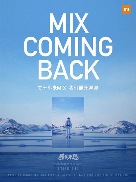 Xiaomi Mi Mix 29 mars