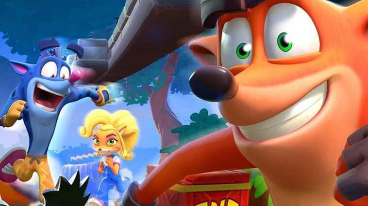 Crash Bandicoot: En Fuite! Jeu Lancé Pour Les Utilisateurs Android
