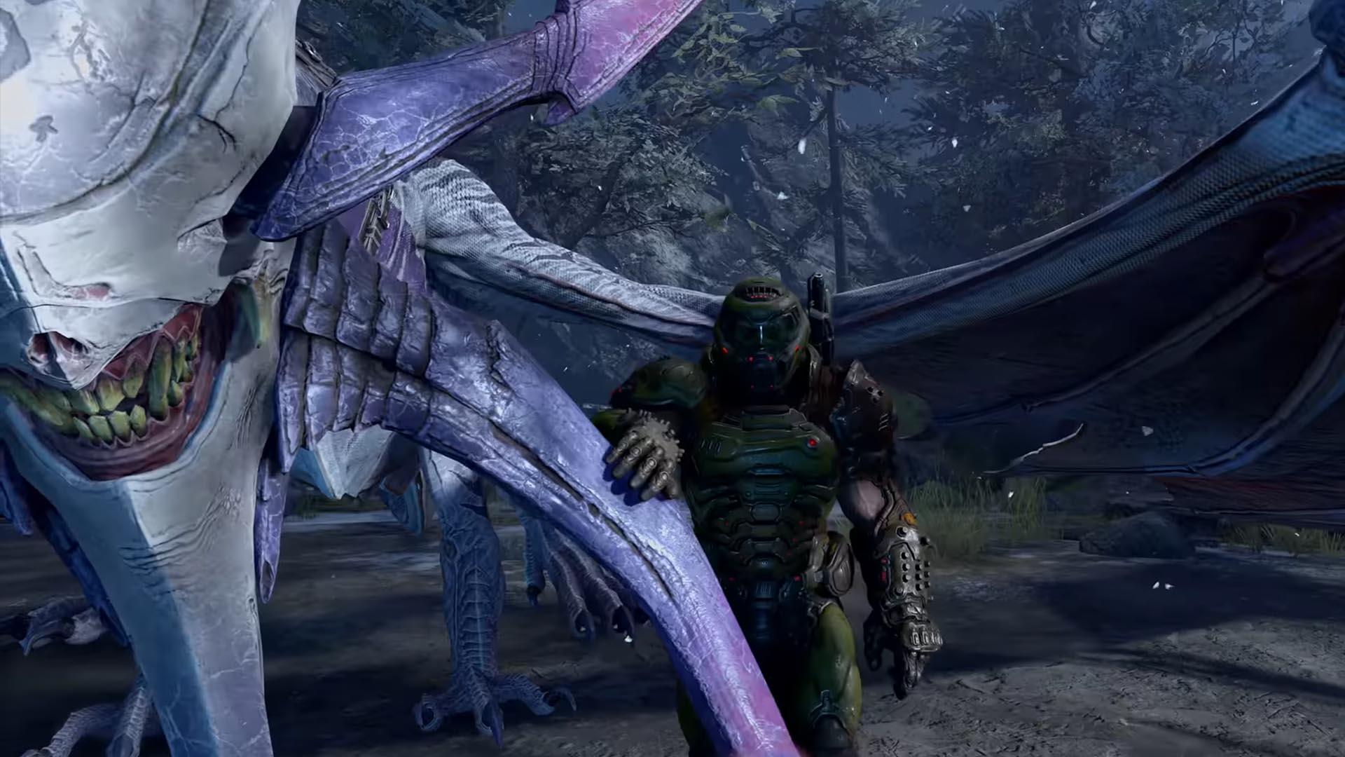 DOOM Eternal - chevaucher des dragons
