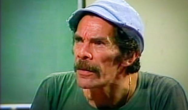 Don Ramón est l'un des personnages les plus aimés de la série télévisée, malgré son caractère explosif.  (Photo : Televisa)