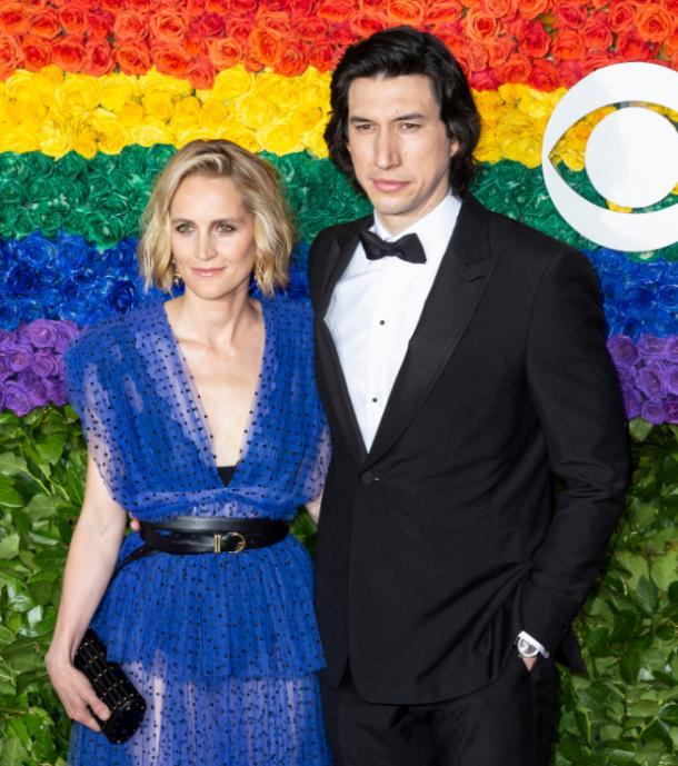 Adam Driver et sa femme Joanna Tucker