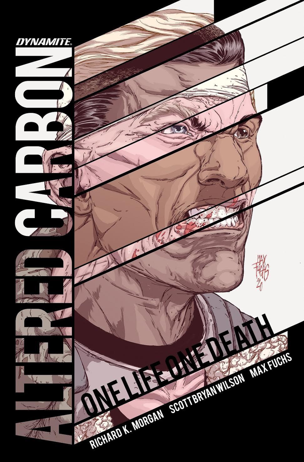 L'écrivain Richard K.Morgan revient dans le monde de Takeshi Kovacs dans le nouveau roman graphique