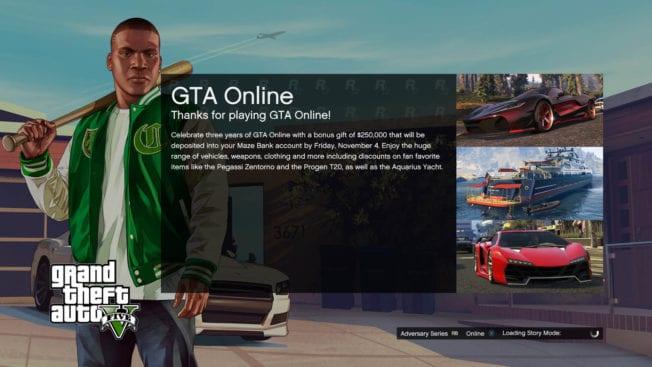 Temps de chargement de GTA Online