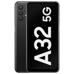 Vue avant du Galaxy A32 5G noir 1