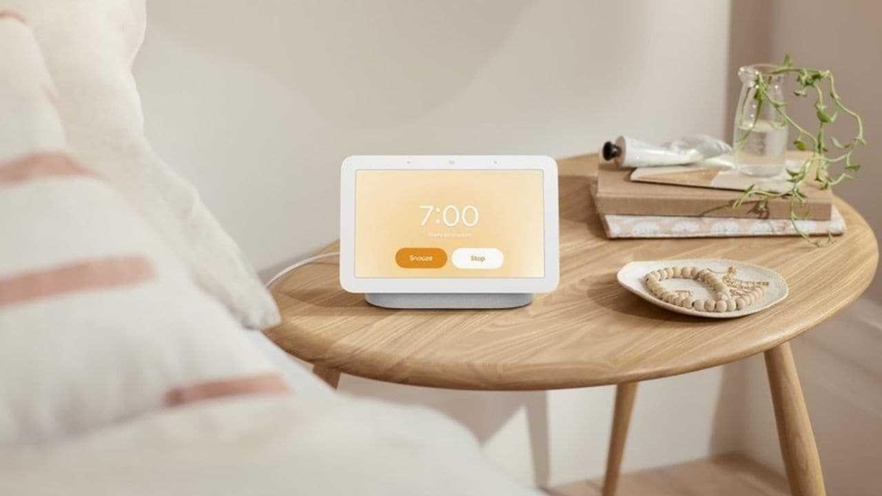 Google dévoile le nouveau Nest Hub avec un écran intelligent de 7 pouces et une nouvelle technologie de détection du sommeil