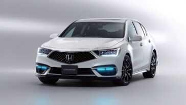 Honda Legend Est Mis En Vente Au Japon Avec Une