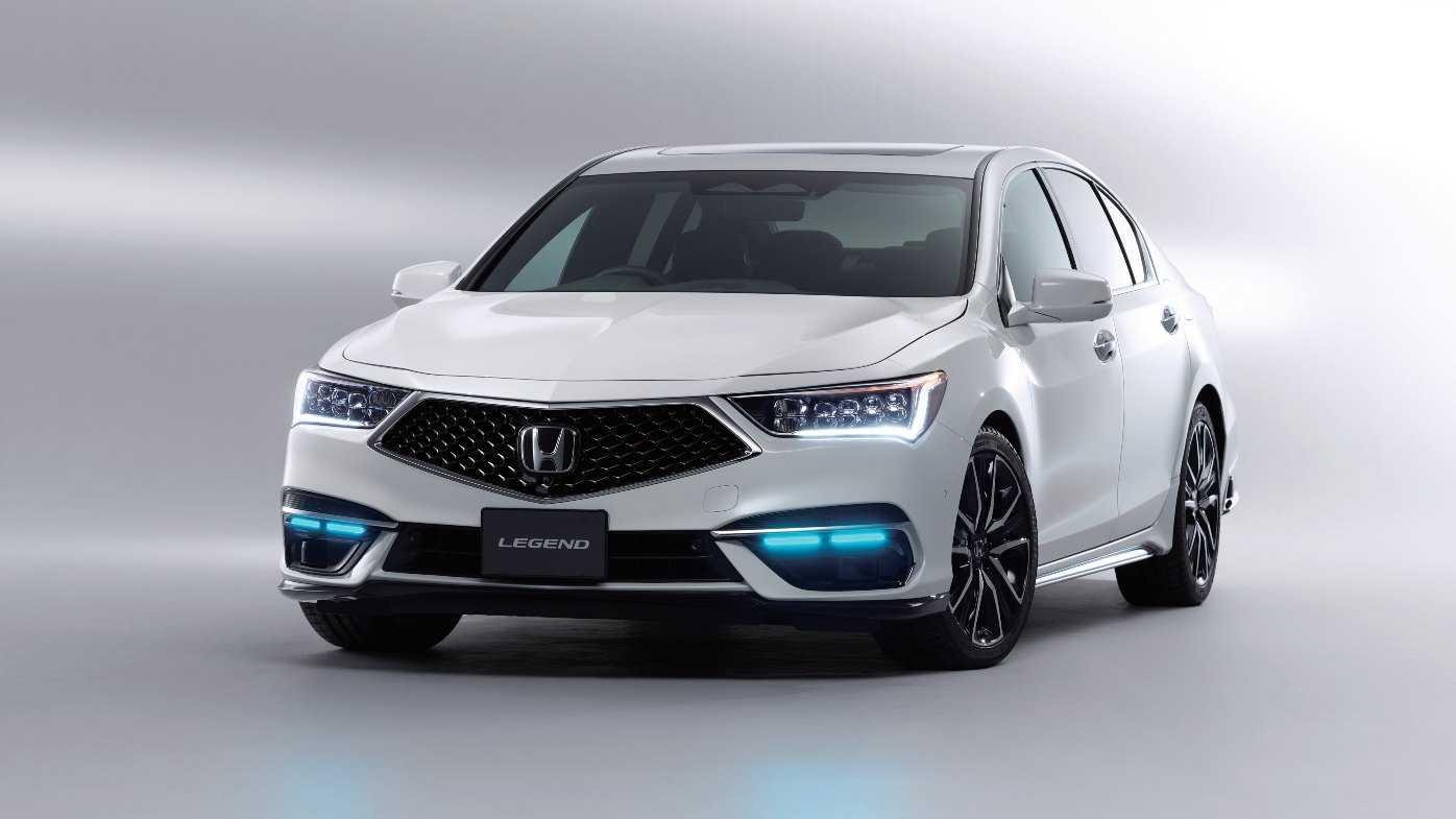 Honda Legend est mis en vente au Japon avec une technologie de conduite autonome de niveau 3