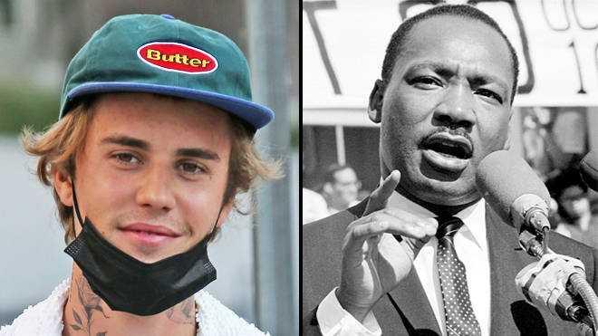"""Justin Bieber A Appelé à Un Interlude Mlk """"sourd"""" Sur"""