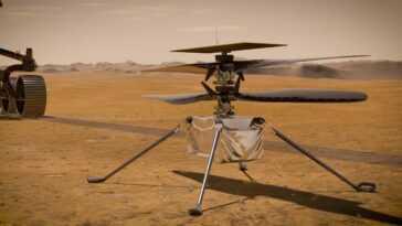 La Nasa Espère Que L'hélicoptère Ingenuity Prend Son Envol Sur
