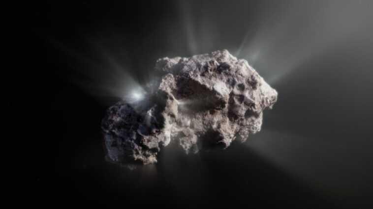 La Comète 2i / Borisov Est Le Visiteur Le Plus