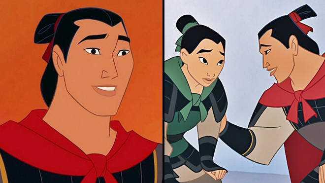 La Star De Mulan, Bd Wong, Dit Que Li Shang
