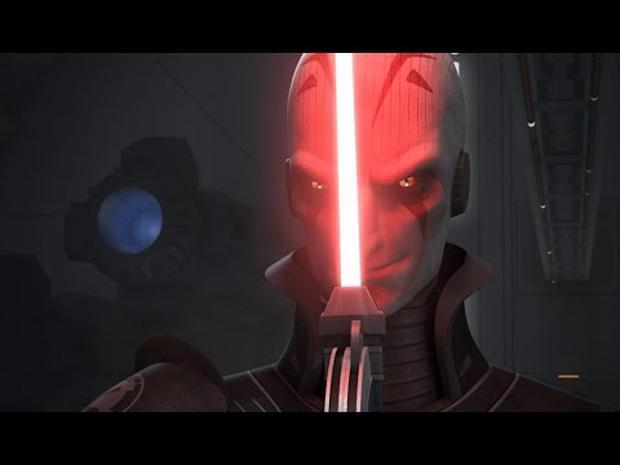 """Le Grand Inquisiteur dans la série animée """"Star Wars"""" (Photo: Youtube)"""