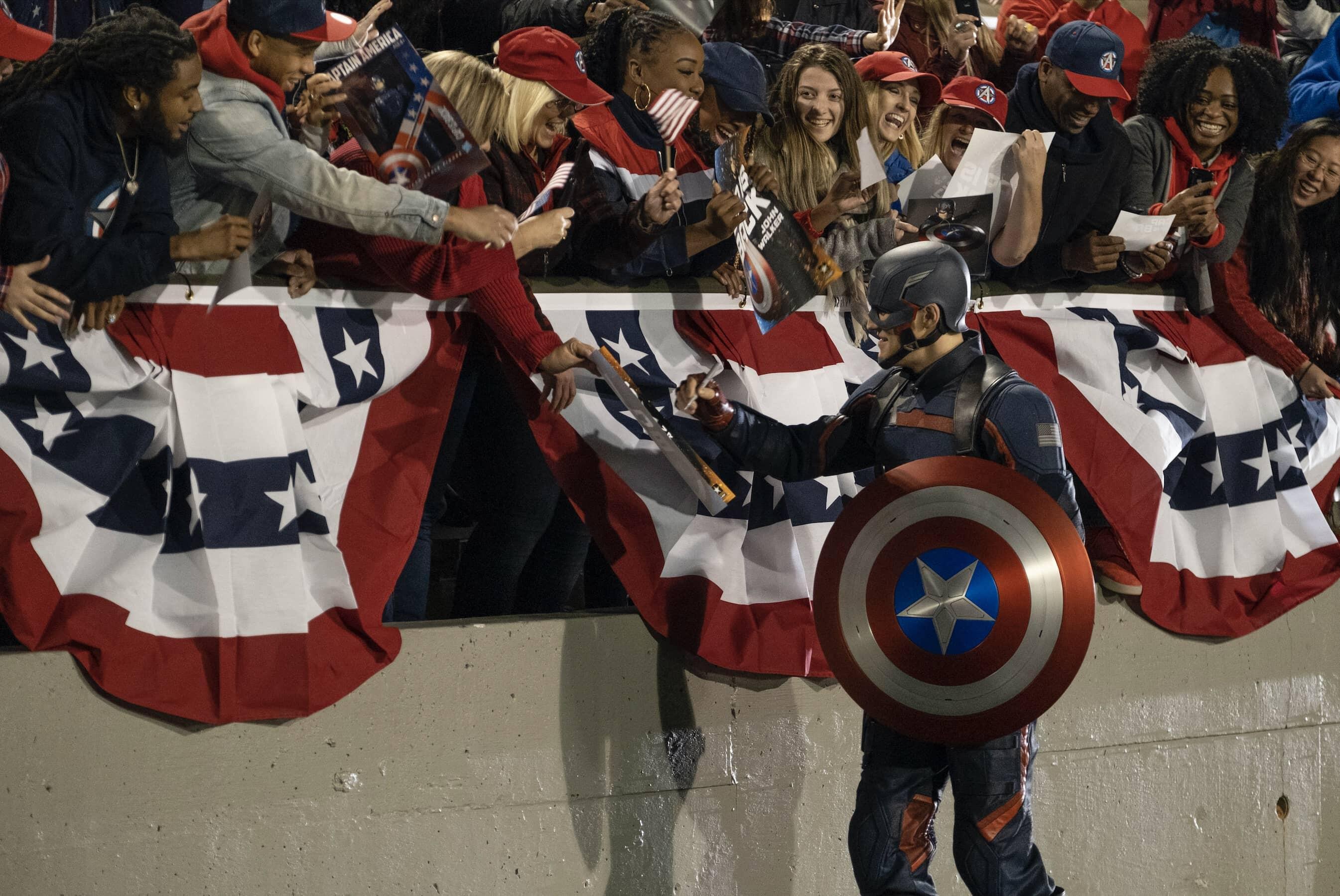 Le nouveau Captain America n'a pas plu à beaucoup.  Photo: (IMDB)