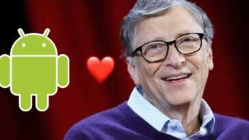 Bill Gates utilise Android