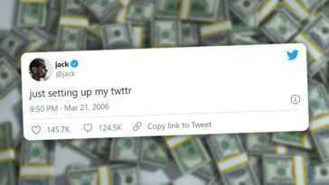 Le Premier Tweet Jamais Tweeté Est Mis Aux Enchères: Il