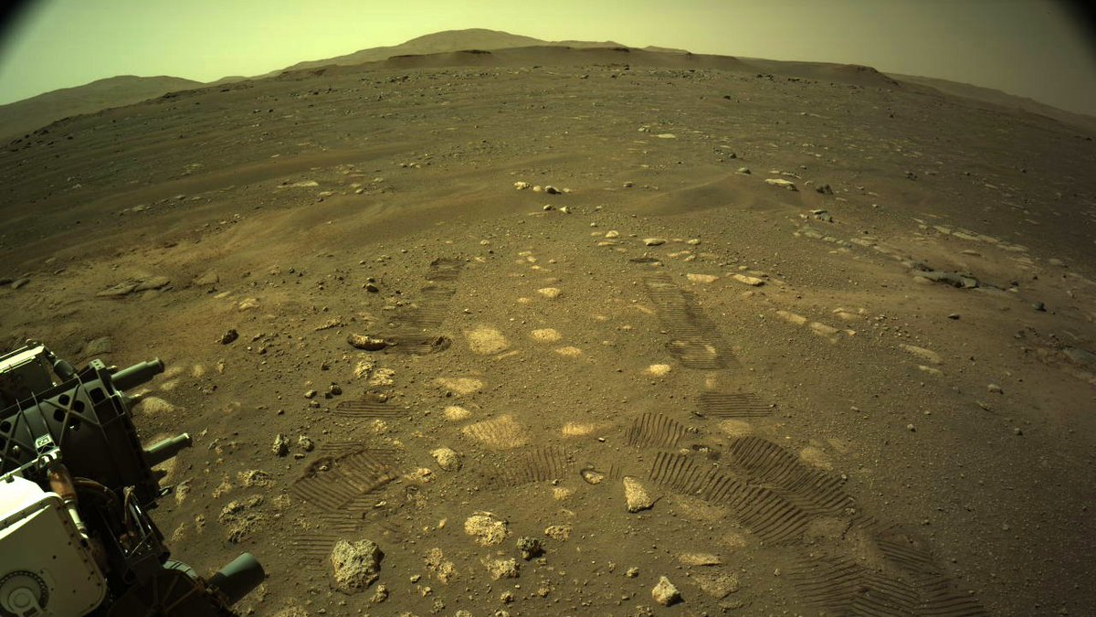 La persévérance a fait ses premiers pas sur Mars, a révélé la NASA le 5 mars 2021.