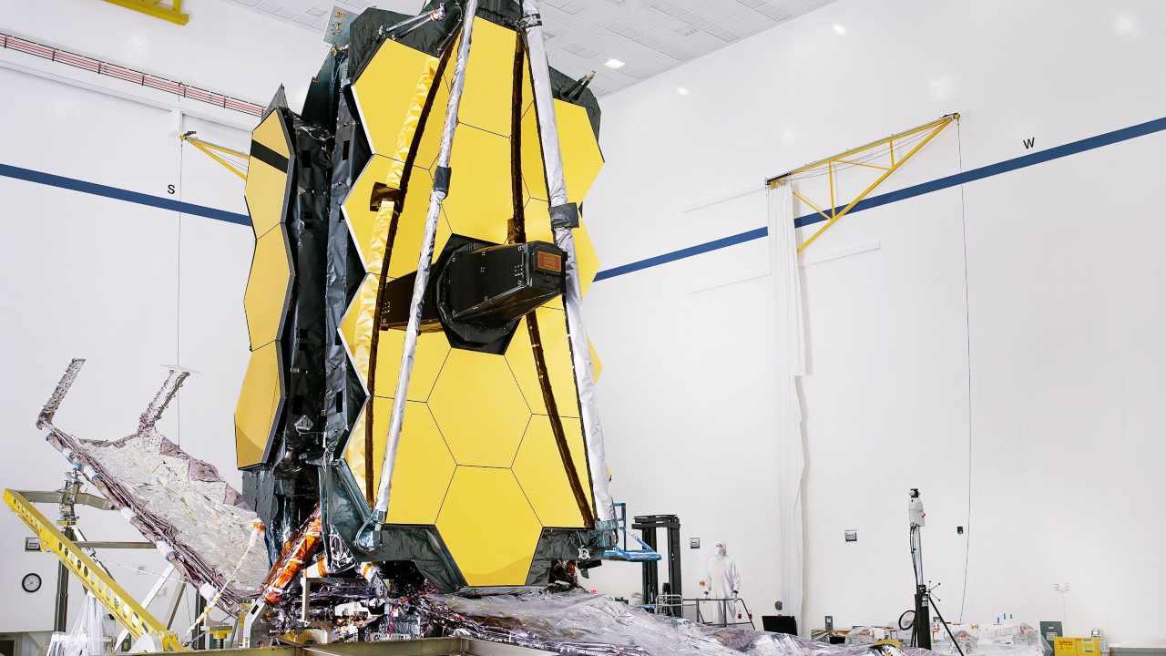 Le télescope James Webb efface les tests fonctionnels, à quelques centimètres du lancement prévu le 31 octobre