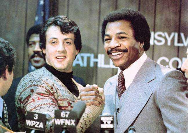 Rocky Balboa et Apollo Creed.  Crédit: MGM