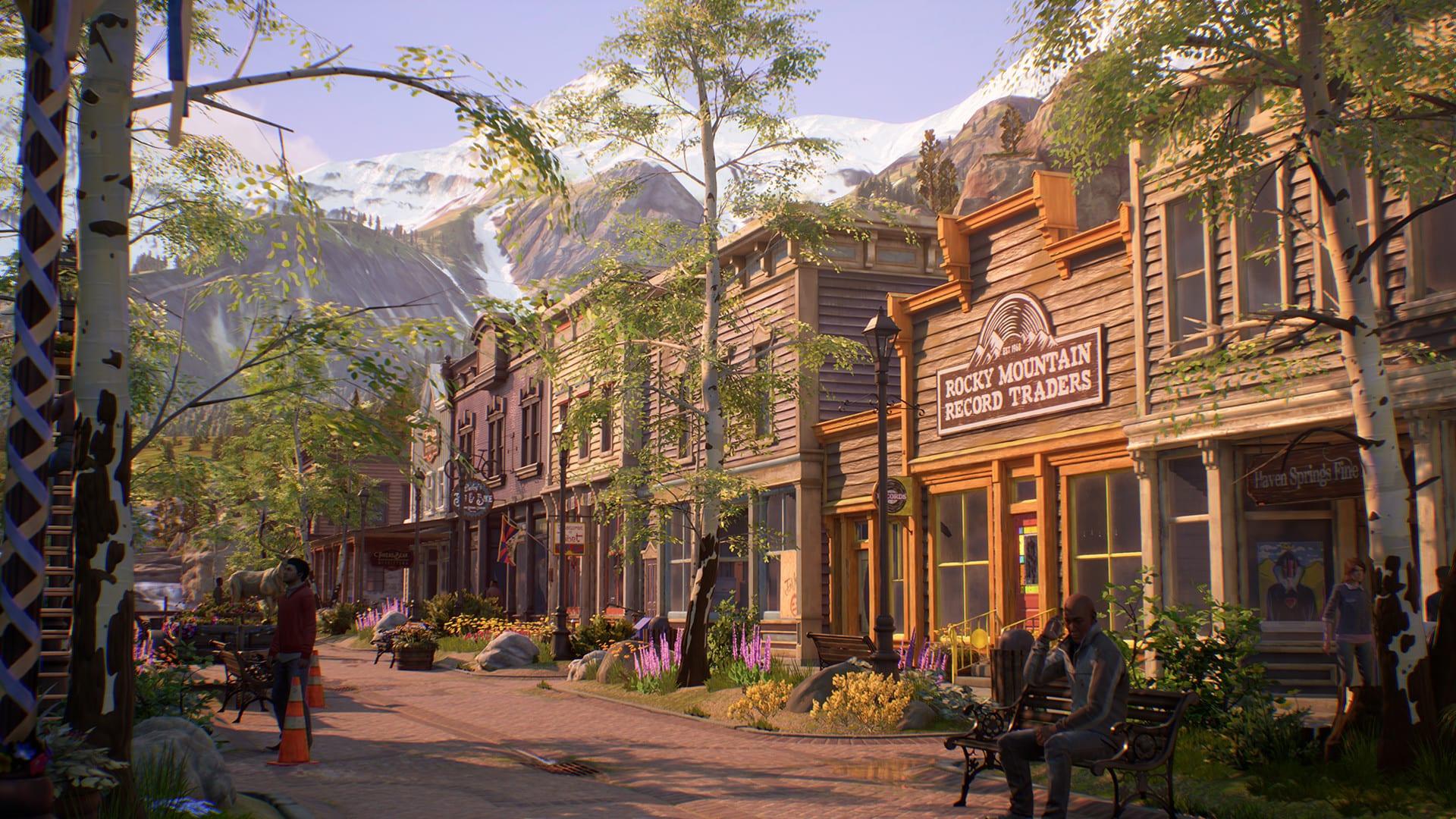 La vie est étrange 3 vraies couleurs Haven Springs