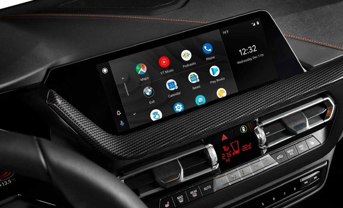 Android Auto chez BMW