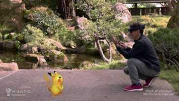 Niantic et Microsoft étudient de nouvelles façons de jouer à Pokémon Go