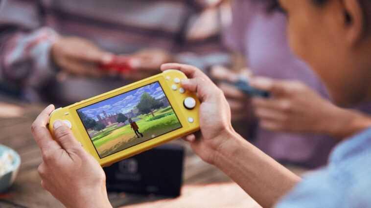 Nintendo Lance Une Nouvelle Console Switch Avec Un écran Samsung