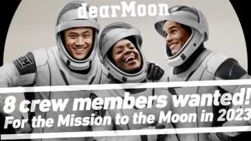 Offrir Un Voyage Gratuit Autour De La Lune Pour 8