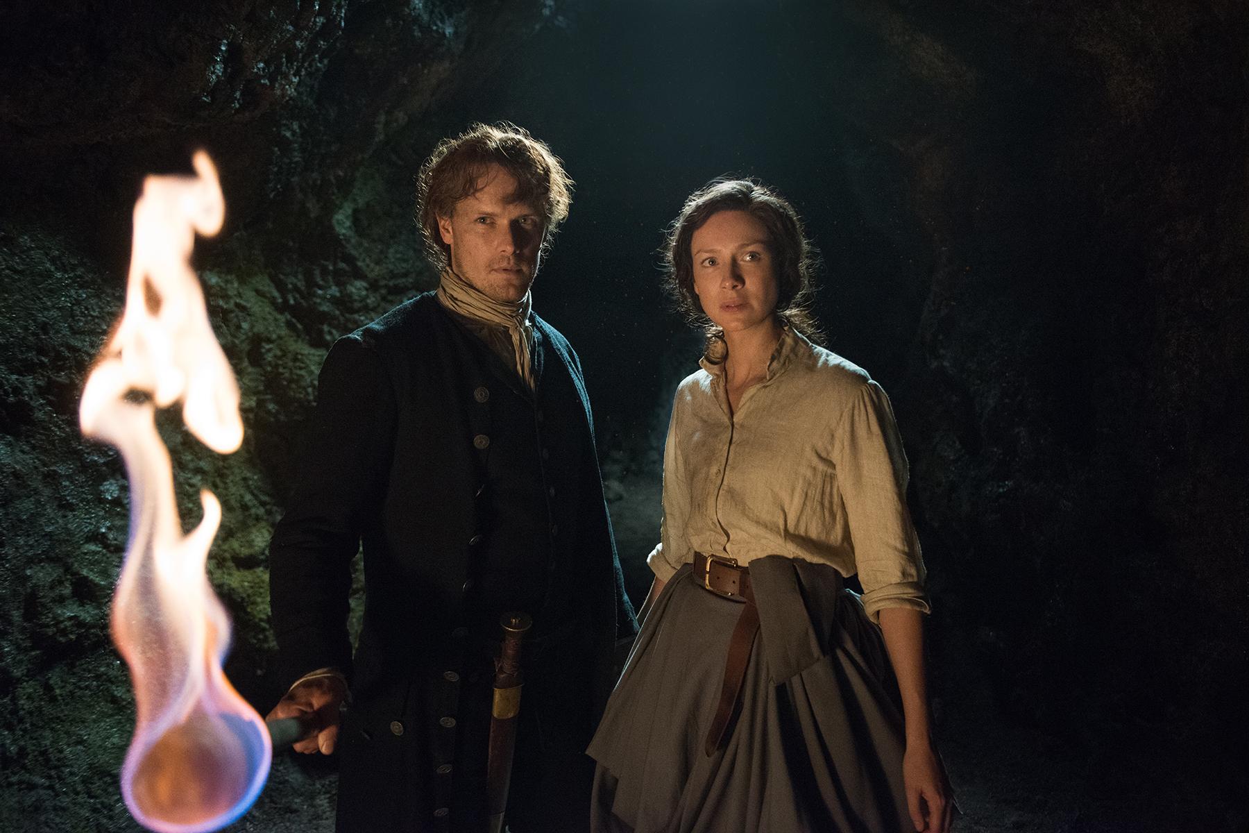 Jamie et Claire subiront les conséquences des nouveaux membres.  Photo: (IMDB)