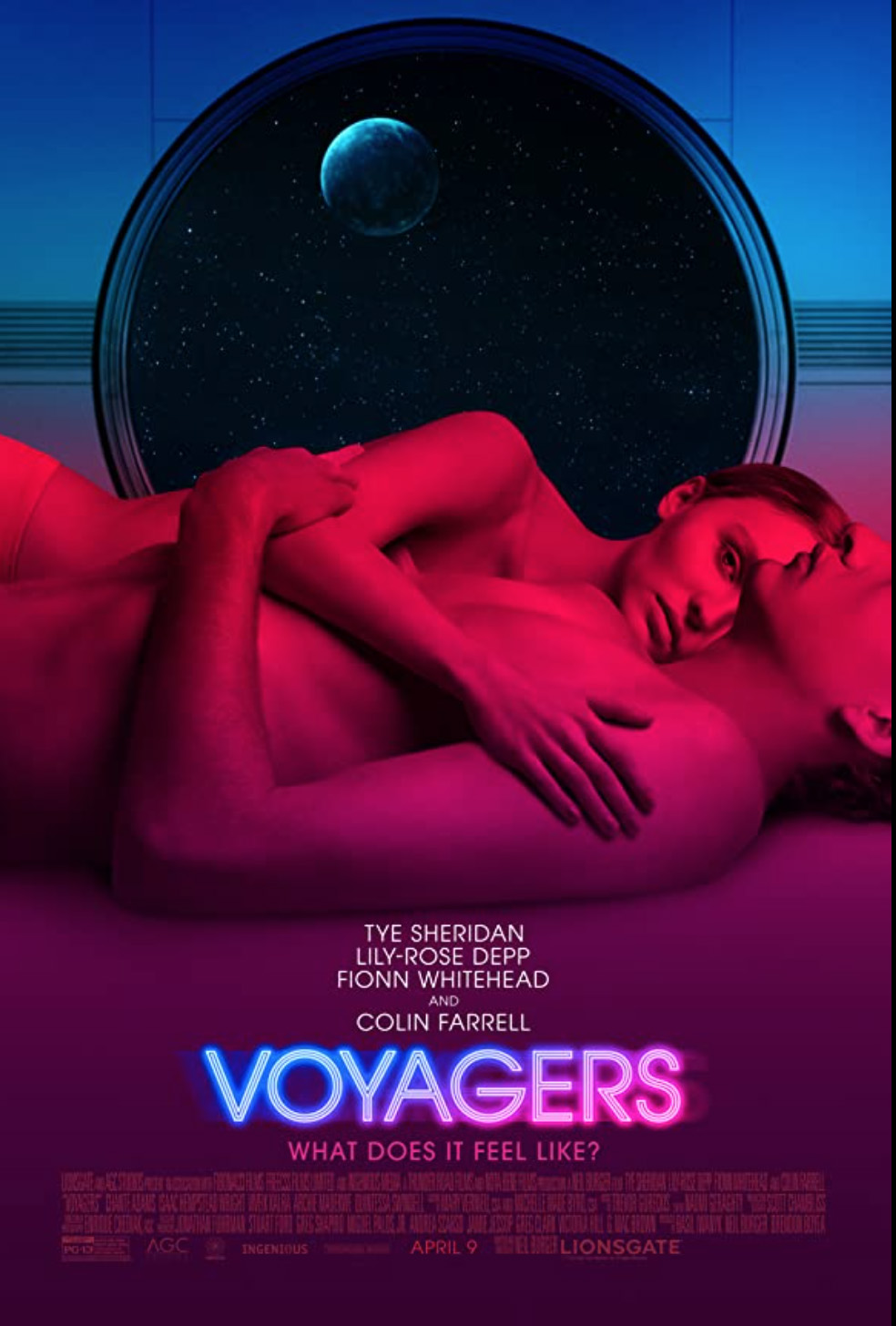 """Une mission de vaisseau de colonie dans l'espace lointain prend son tour dans le thriller de science-fiction de Neil Burger """"Voyageurs"""" lancement le 9 avril."""