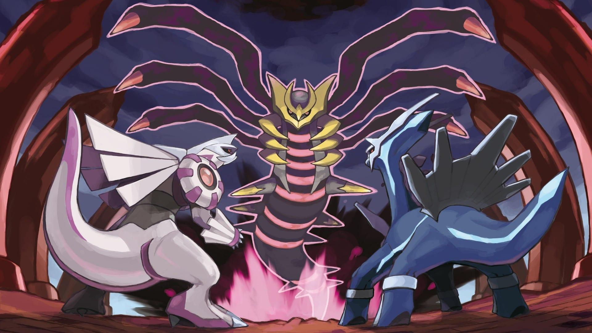 Pokémon Diamant brillant Perle lumineuse Platine
