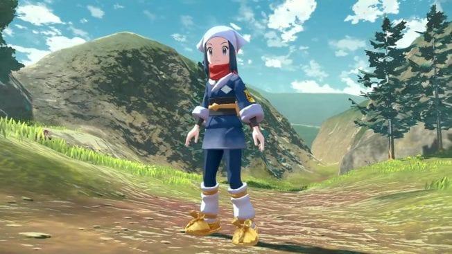 Pokémon Legends Arceus - personnage