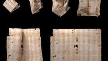 Quatre Lettres Vieilles De 300 Ans De La Collection Brienne