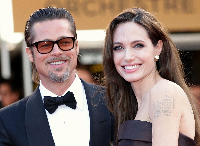 Angelina Jolie et Brad Pitt.  Photo: (Getty)