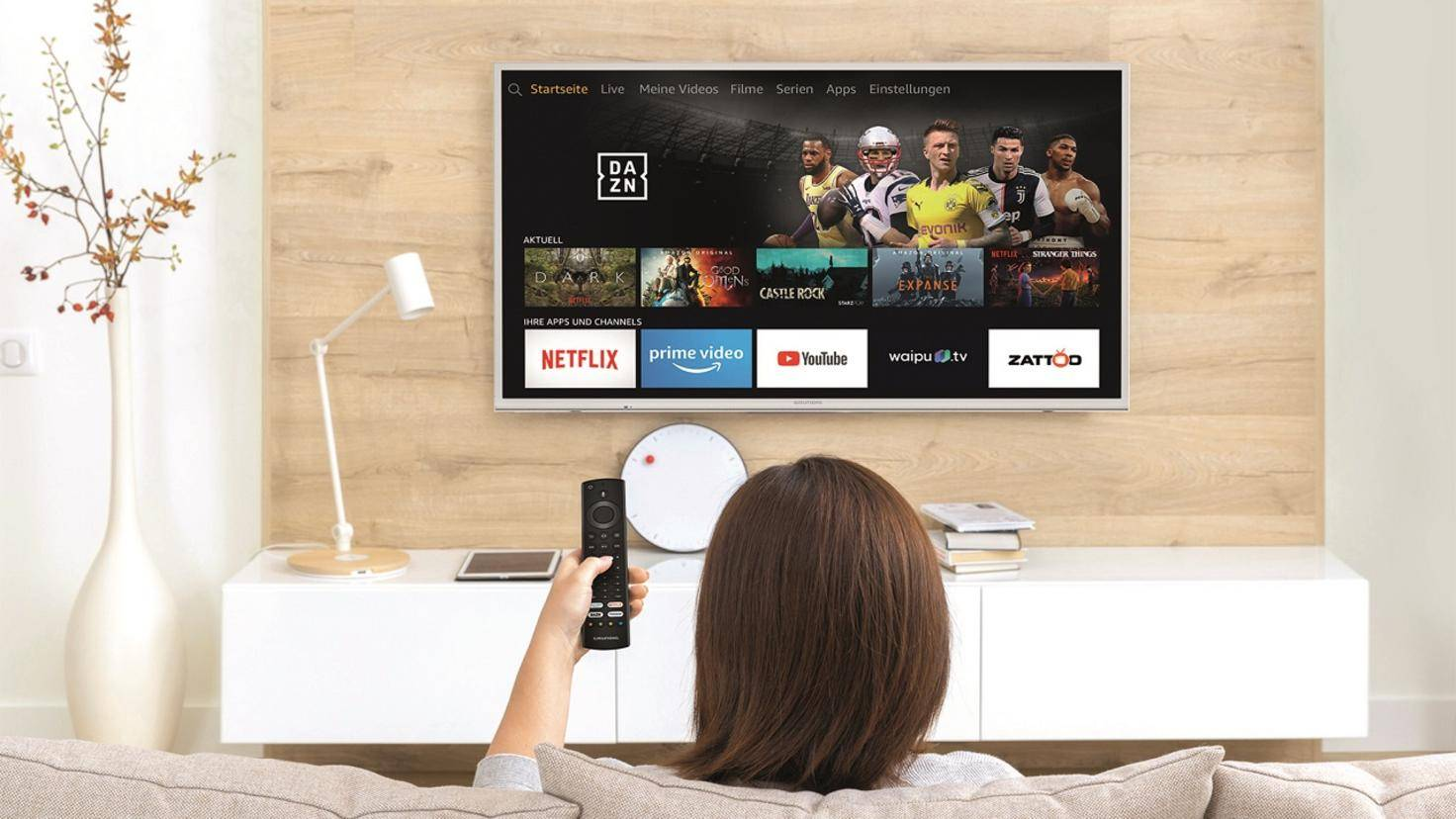 Grundig Vision 7 avec Alexa et Fire TV