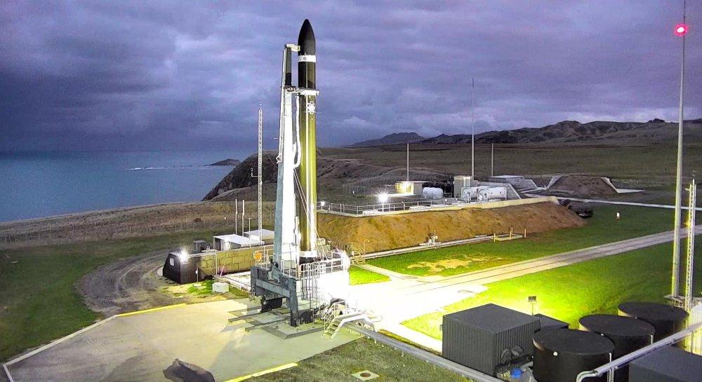 Un booster d'électrons Rocket Lab est sur le point de lancer le