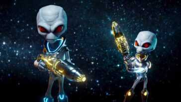 Rumeur: THQ Nordic Teasing est-il un remake de Destroy All Humans 2?