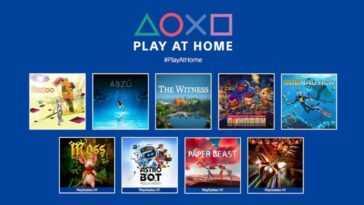 Sony Play At Home: Entrez Dans Le Gungeon, Rez Infinite,