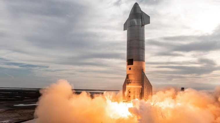 Spacex Reporte Le Test En Vol De La Fusée Starship