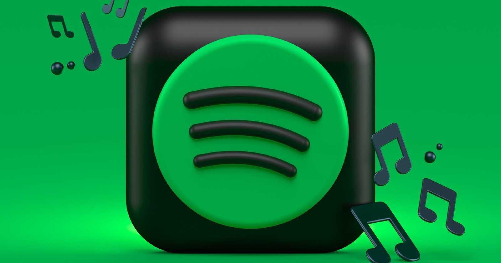L'icône de l'application Spotify