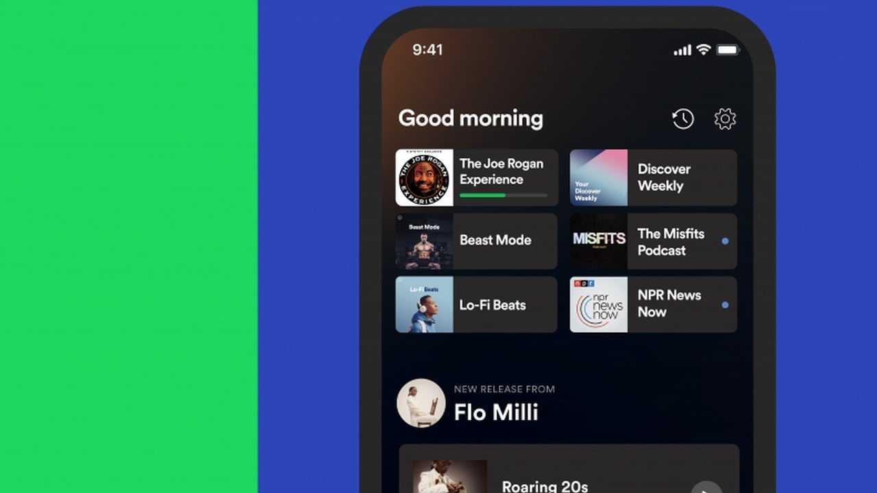 Spotify va déployer un hub domestique personnalisé pour les utilisateurs iOS et Android