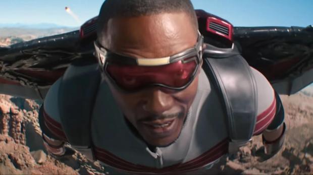 Falcon a réussi à sauver le soldat avant d'entamer un conflit avec la Libye (Photo: Marvel / Disney +)